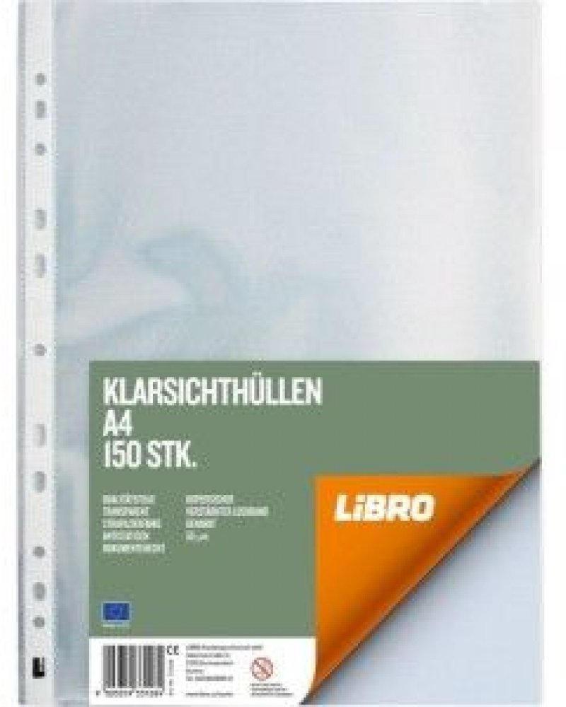 Klarsichth/üllen 50 St/ück LIBRO 784707 Glatt A4 100 /μ