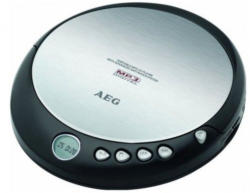 AEG Portable CD-Player CDP 4226, schwarz