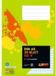 LIBRO LIBRO Heft Nr. 9, A5, 20 Blatt, 5 x 7 mm hochkariert