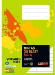 LIBRO LIBRO Vokabelheft Nr. 6, A5, 20 Blatt, 10mm liniert mit Mittelstrich
