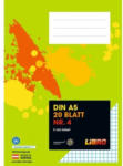 LIBRO LIBRO Heft Nr. 4, A5, 20 Blatt, 5mm kariert