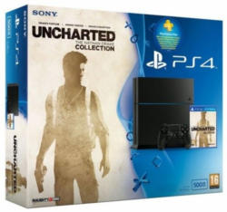 PlayStation 4 Konsole inkl. Uncharted: The Nathan Drake Collection u. 3 Monate PS Plus Abonnement