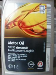 4 Liter  MOTORÖL org. OPEL 5W30 dexos 2