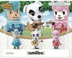 amiibo Animal Crossing - 3er Figuren-Set: K. K., Rosina, Björn