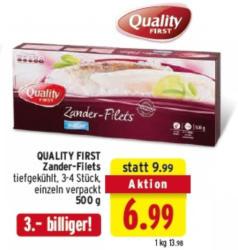 QUALITY FIRST Zander-Filets