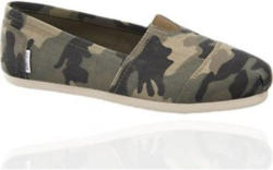 Graceland Camouflage Leinen Slipper