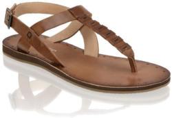 Blue Cox Glattleder-Sandale