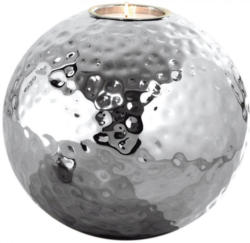 Fink Living Teelichthalter Hammered - Leuchter H:20cm D:20cm