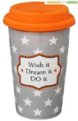 Coffee to go wish it dream it