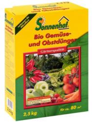 SONNENHOF Bio Gemüse und Obstdünger