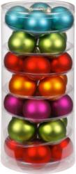 Weihnachtskugeln »Mille Fiori-Mix« 30mm, aus Glas