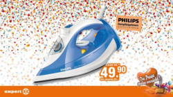 Philips Dampfbügeleisen GC3810/20 Azur Performer
