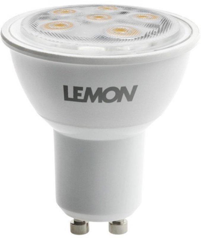 Lemon LED-HV-Spot 6W GU10 40° dimmbar 400lm 2700K Lebensdauer 25.000h Ersatz f. 35W