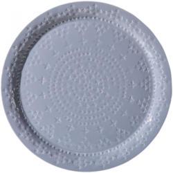 Metall-Tablett (Ø 45 cm)