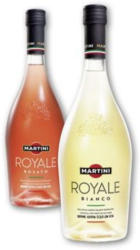 MARTINI Royale Rosato oder Royale Bianco