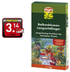 Degro Balkonblumen-Langzeitdünger