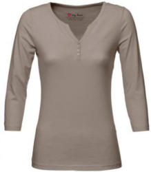 Henley-Kragen-Shirt