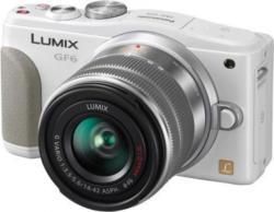 Panasonic DMC-GF6KEG-W System Kamera, LUMIX G VARIO Normalobjektiv, 16 Megapixel (3 Zoll) Display