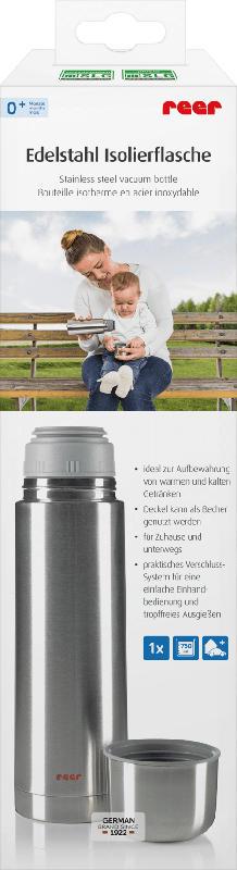 Reer Trinkflasche Edelstahl, 750 ml