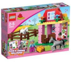LEGO Pferdestall