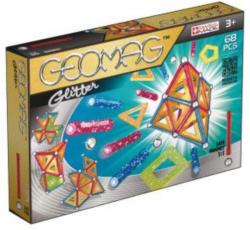 Geomag Magnetbaukasten Glitter Panels 68-teilig