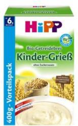 HiPP Bio-Getreidebrei Kinder-Grieß 400g