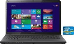 Sony SVE1713C1EB Notebook, Intel® Core™ i3, 43,8 cm (17,3 Zoll), 750 GB Speicher, 4096 MB DDR3-SDRAM