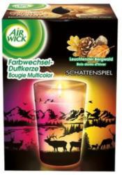 AIRWICK Farbwechsel-Duftkerze Leuchtender Bergwald