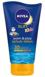 NIVEA Sun Kids swim & play schutz-lotion LSF 30