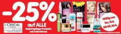 -25% auf ALLE l'Oreal Paris Garnier Gesichtspflege-Produkte und Colorationen