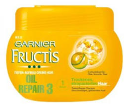 FRUCTIS Oil Repair 3 Tiefen-Aufbau Creme-Kur