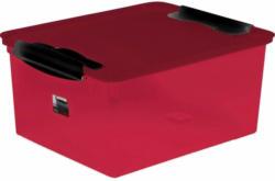 Box mit Deckel Rot