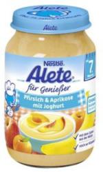 Pfirsich-Aprikose und Joghurt