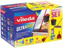 Bodenreinigungsset Ultramat in Rot/schwarz