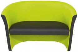 Zweisitzer Rainbow Duo Grün, Schwarz
