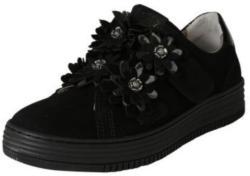 Sneakers mit Blumenverzierung