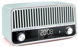 Retro Radio mit Bluetooth schwarz