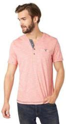 TOM TAILOR T-Shirt »striped henley«