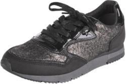 Sneakers mit Metallic-Design