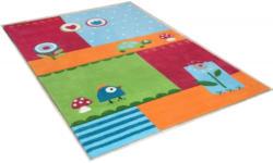 Kinderteppich, »Leben im Garten«, THEKO, rechteckig, Höhe 14 mm, handgetuftet