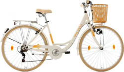 KS Cycling Damen-Cityrad, 28 Zoll, weiß, Shimano 6 Gang-Kettenschaltung, »Cantaloupe«