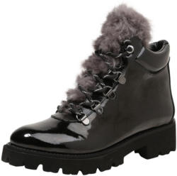 Stiefelette ´Asur´ in Lack-Optik
