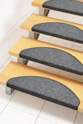 Stufenmatte, »Bob«, Andiamo, stufenförmig, Höhe 45 mm, maschinell getuftet