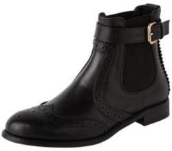 Chelsea Boots mit Lochverzierungen ´Slow´