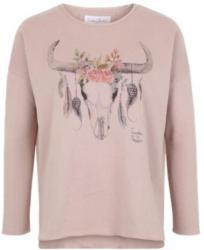 Sweater ´Bull flower´