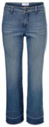 Flared-Jeans gewaschener Denim