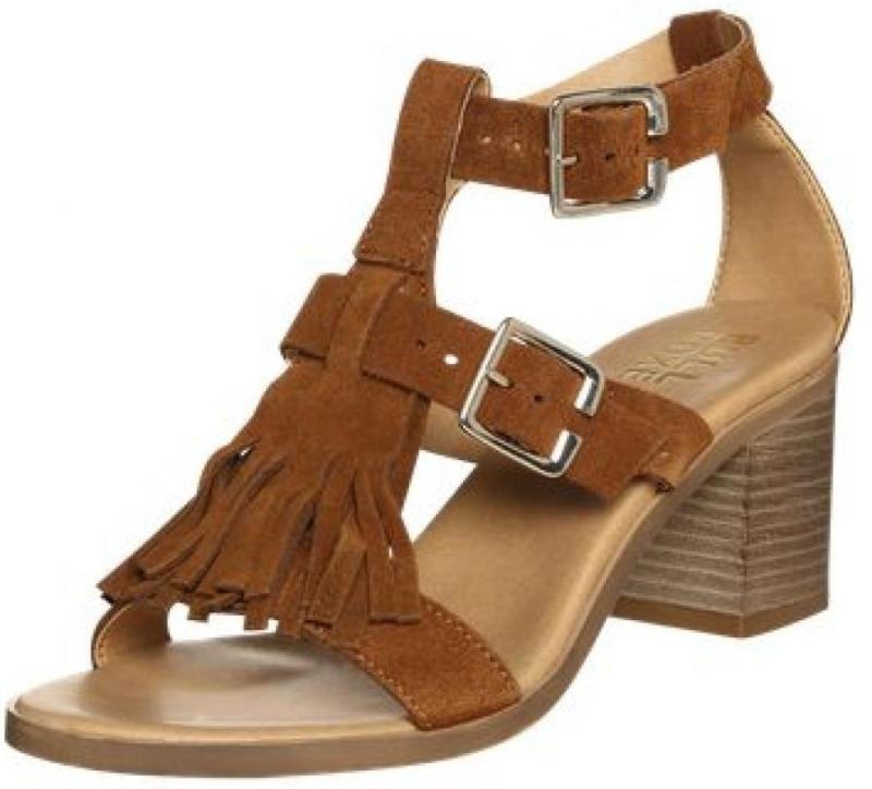 Sandalette mit Fransenbesatz