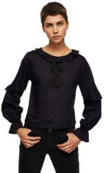 MANGO T-Shirt mit Volant-Details und Schleife