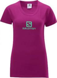 SALOMON Polylogo Tee - Damen Kurzarmshirt