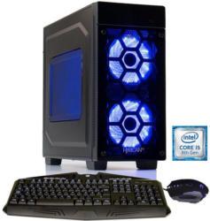 HYRICAN Gaming PC i5-8600K 16GB 2TB 512GB SSD GeForce® GTX 1070 »Striker-X 6006«